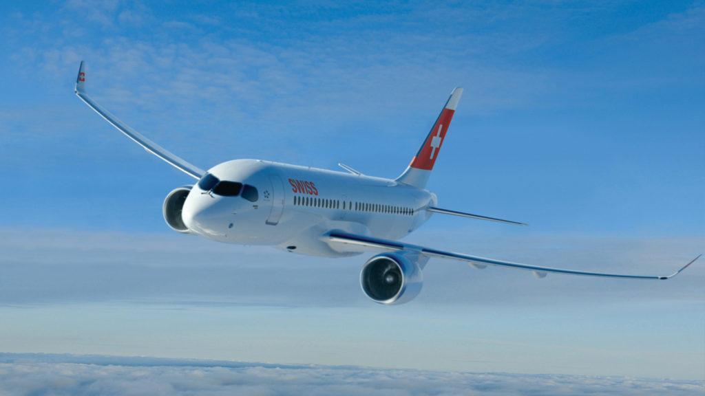 El primer vuelo de demostración del nuevo Bombardier CS100