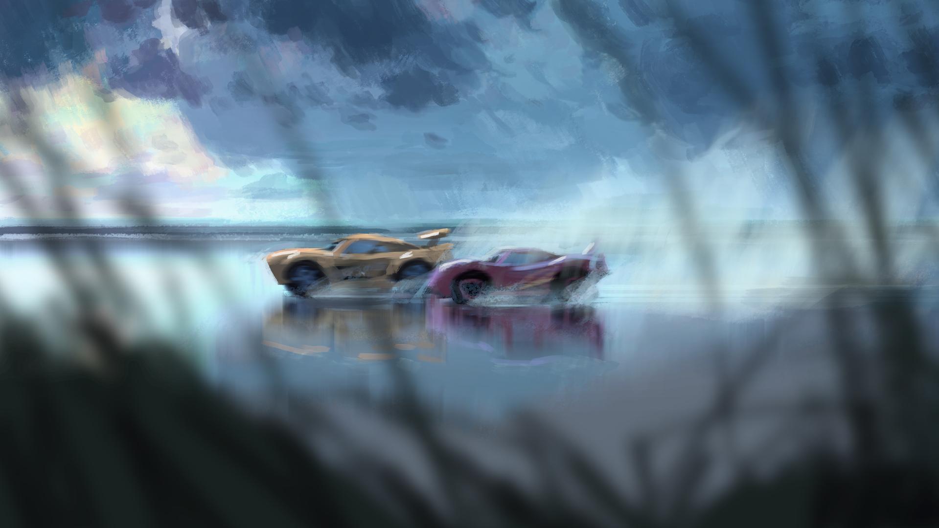 Estas son las primeras imágenes de la película Cars 3