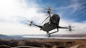 Aprueban que el dron que puede llevar a una persona comience a volar