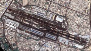 La fotografía más grande llega desde Dubái: el aeropuerto internacional (DXB) visto desde el espacio