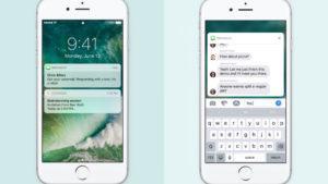 Este es el nuevo diseño y las principales funciones de iOS 10