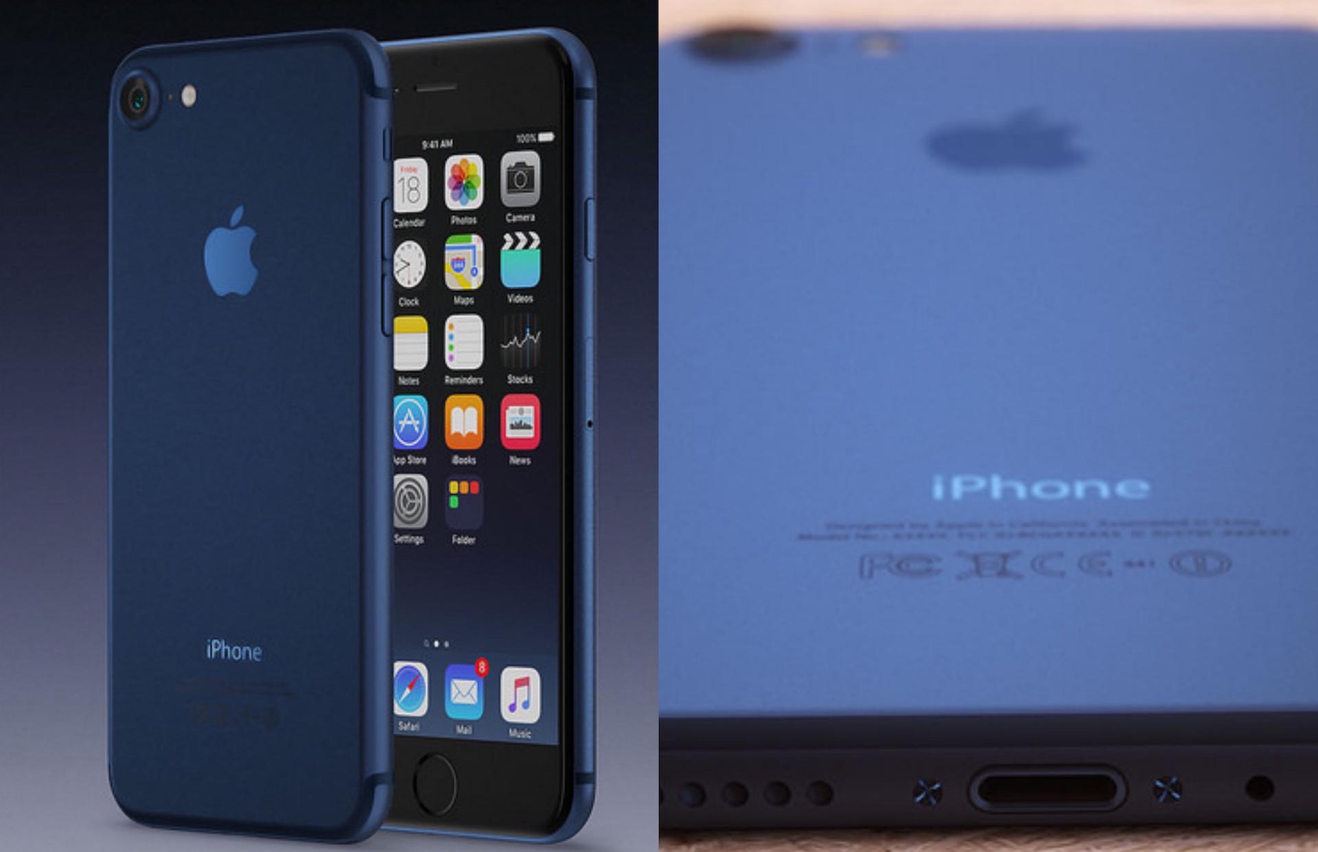 El nuevo iPhone 7 podría llegar, finalmente, en color azul