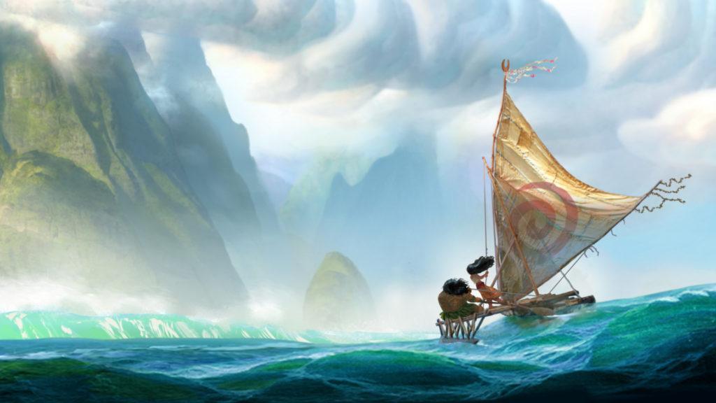 Moana: Un Mar de Aventuras, es la nueva película de animación de Disney
