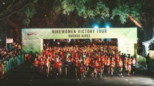 Nike Women Victory Tour 21K: 5 mil mujeres corrieron la primera media maratón de mujeres de Argentina