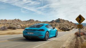 Arrancó la producción del nuevo Porsche 718 Cayman