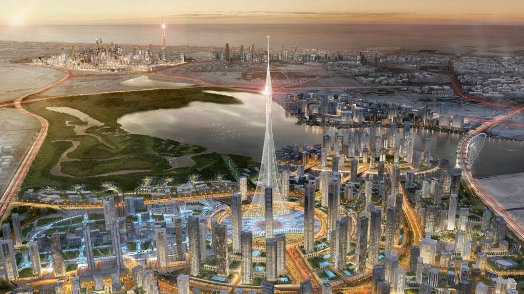 La torre más alta de Dubái superará en 100 metros al Burj Khalifa