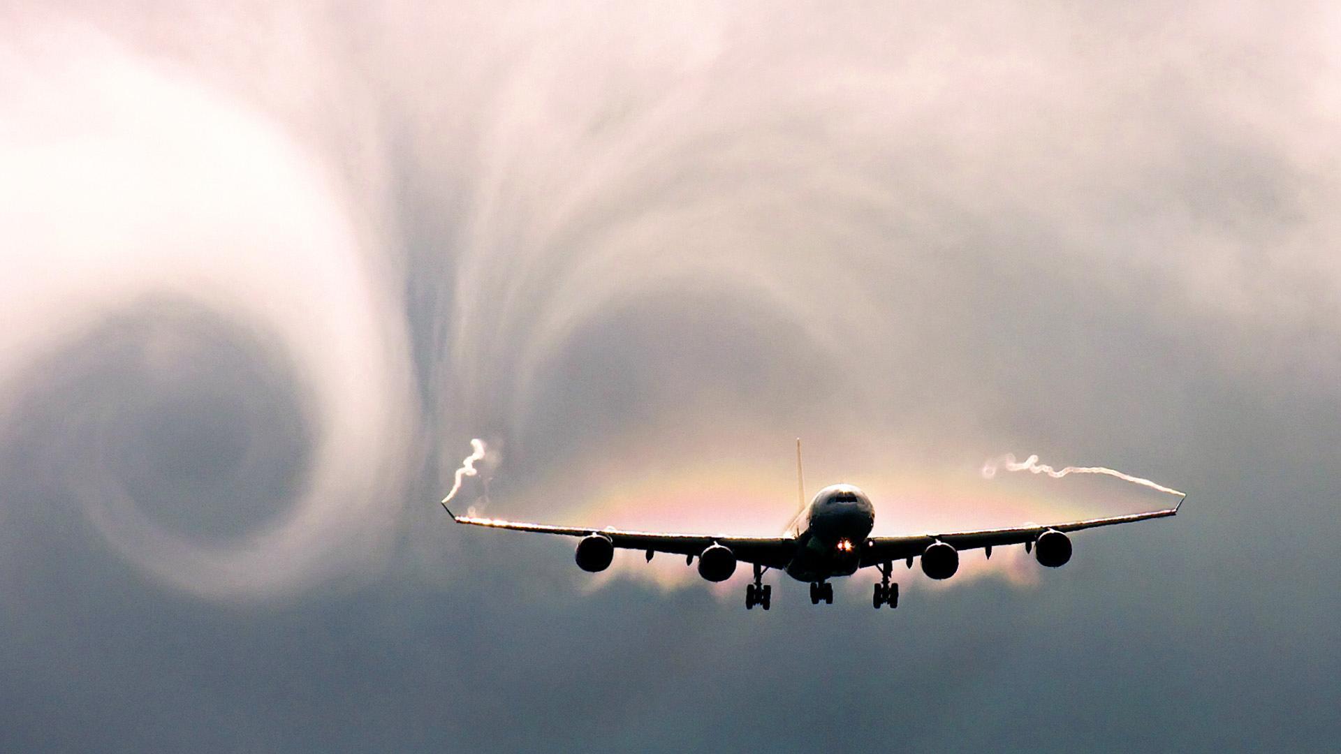 La pasajera que viajó sola en un avión: video