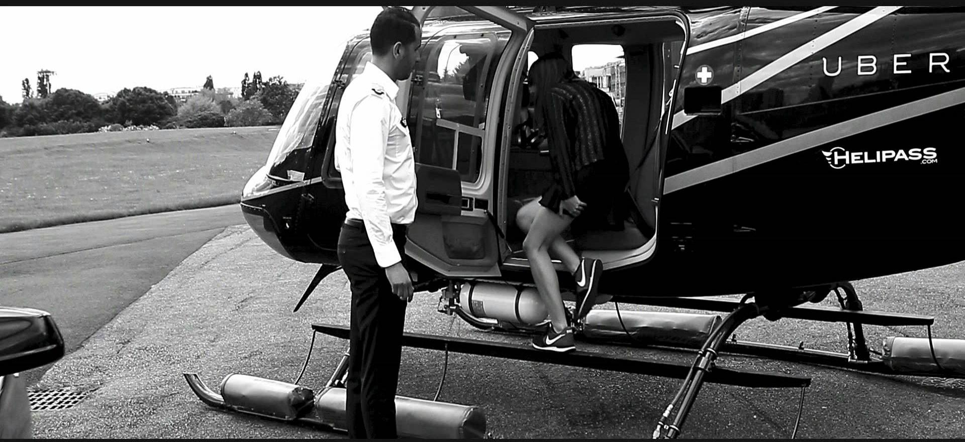 Ubercopter llegó a Brasil con traslados en helicóptero entre hoteles y aeropuertos