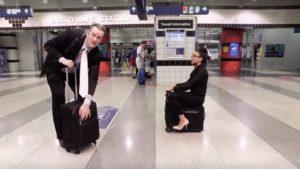 Presentaron Modobag: la valija motorizada para hacer los viajes más cómodos