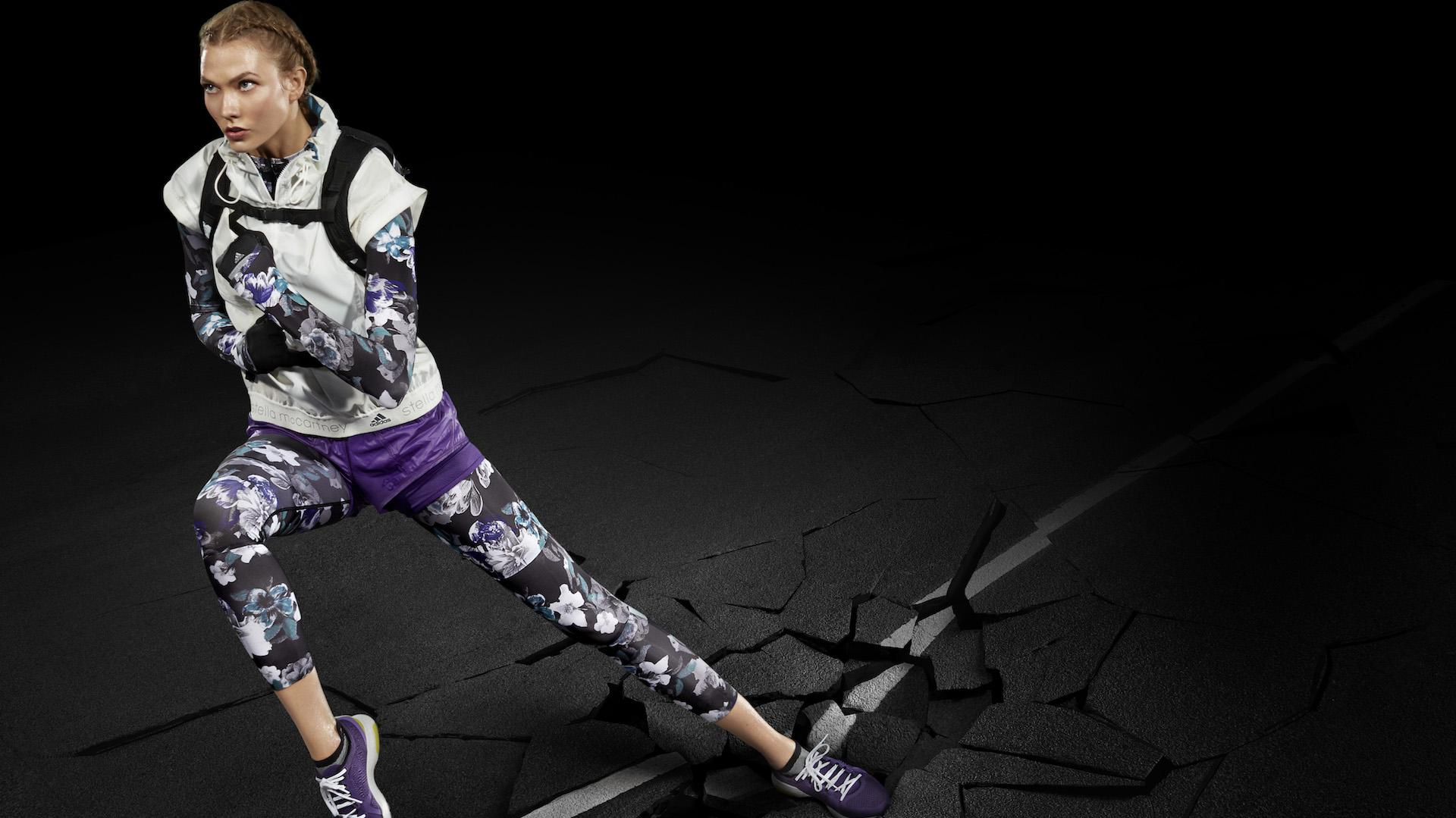 La nueva cara de Adidas by Stella McCartney es la super modelo Karlie Kloss