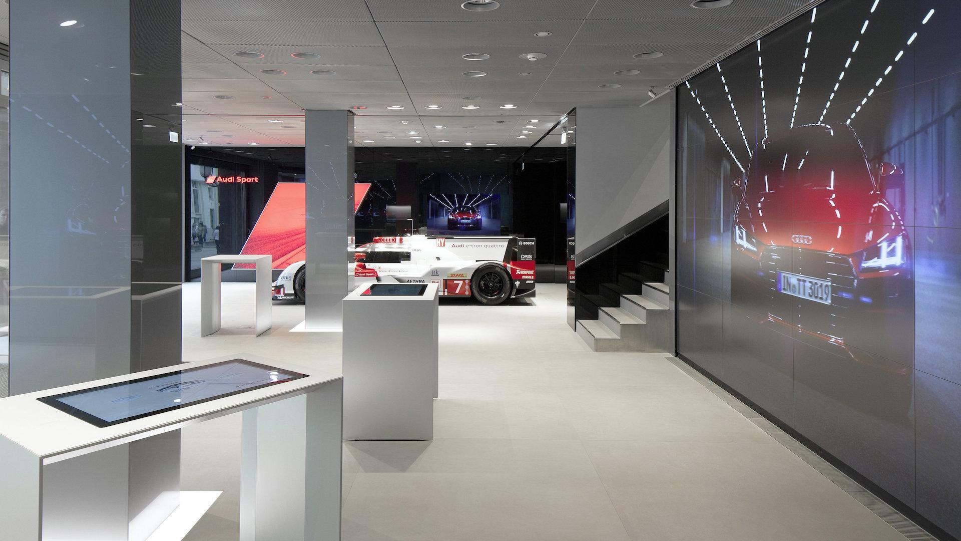 Abrió el sexto ciberconcesionario Audi City del mundo. ¿Dónde?
