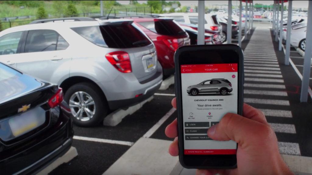 Avis Now nos permite elegir, cambiar y desbloquear el auto desde el teléfono
