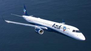 Azul Líneas Aéreas comenzó a operar la ruta Porto Alegre – Montevideo