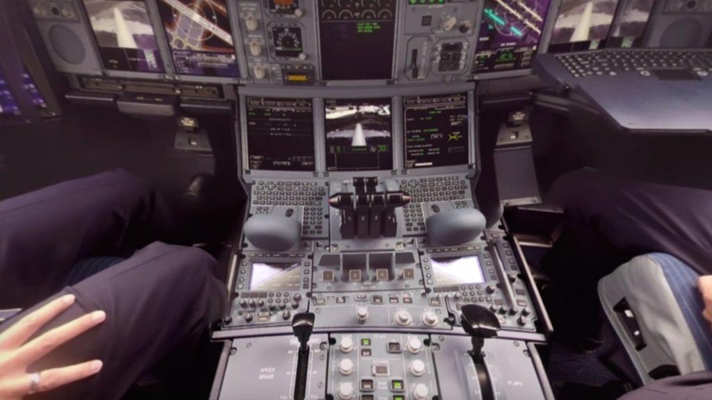 Emirates presentó el primer video 360 para conocer la cabina de un Airbus A380