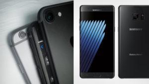 iPhone 7 y Galaxy Note 7: así lucirían los dos smartphones más esperados del año