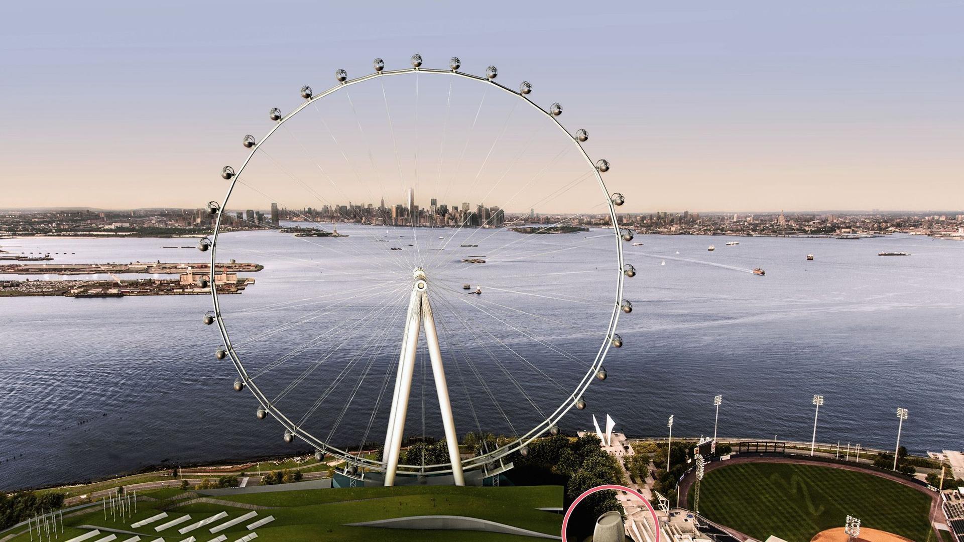 Avanza la construcción de New York Wheel, la más alta del mundo