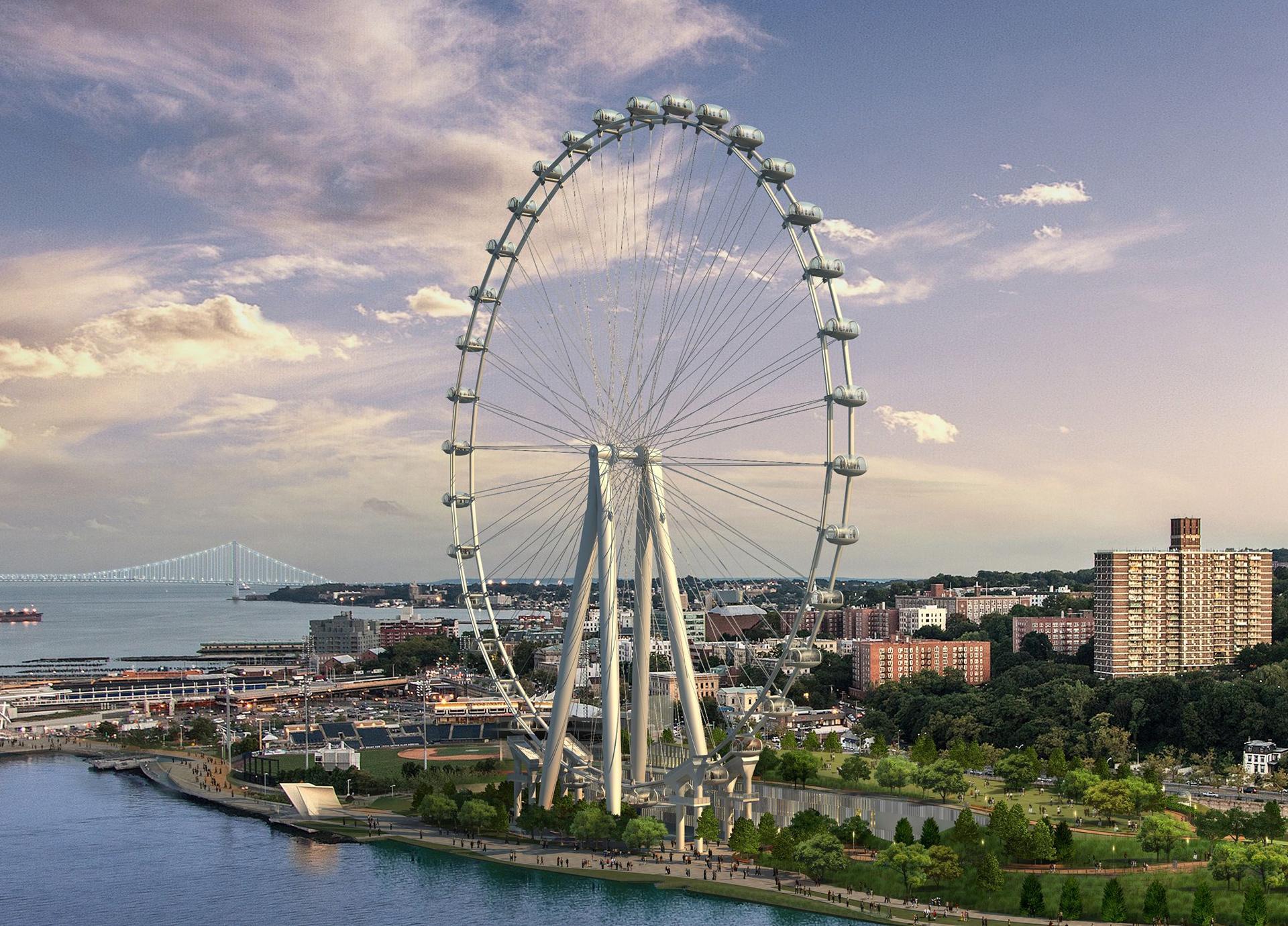 Cómo New York Wheel quiere cambiar el turismo en Nueva York