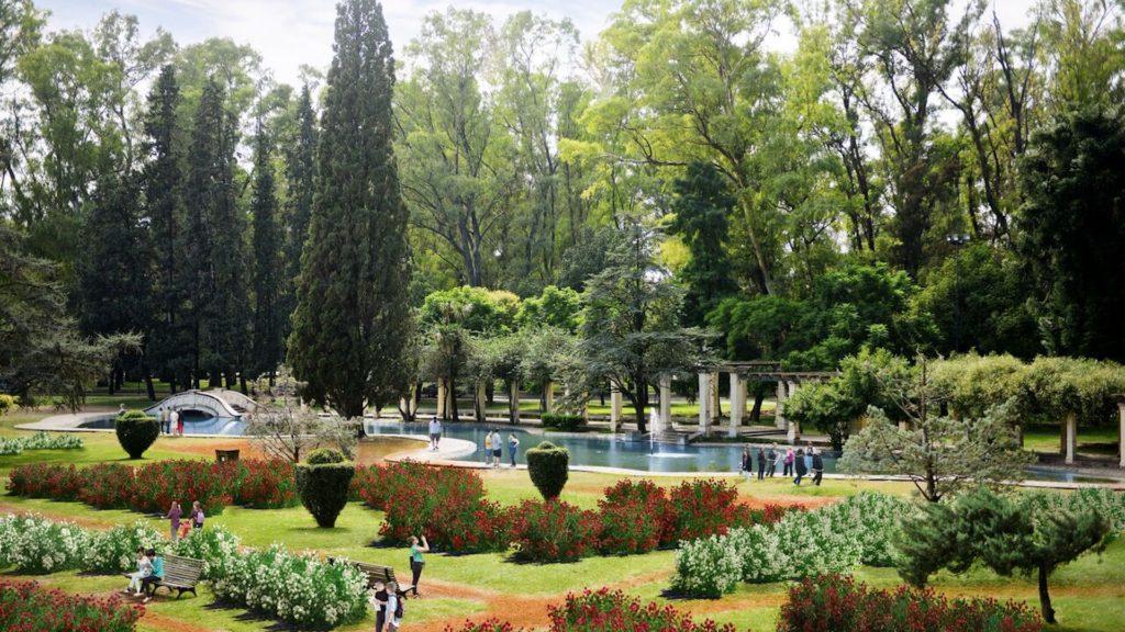 Así quedará el histórico Parque de la Independencia de Rosario