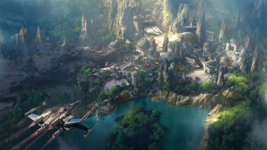Así será el parque de Star Wars en Disney