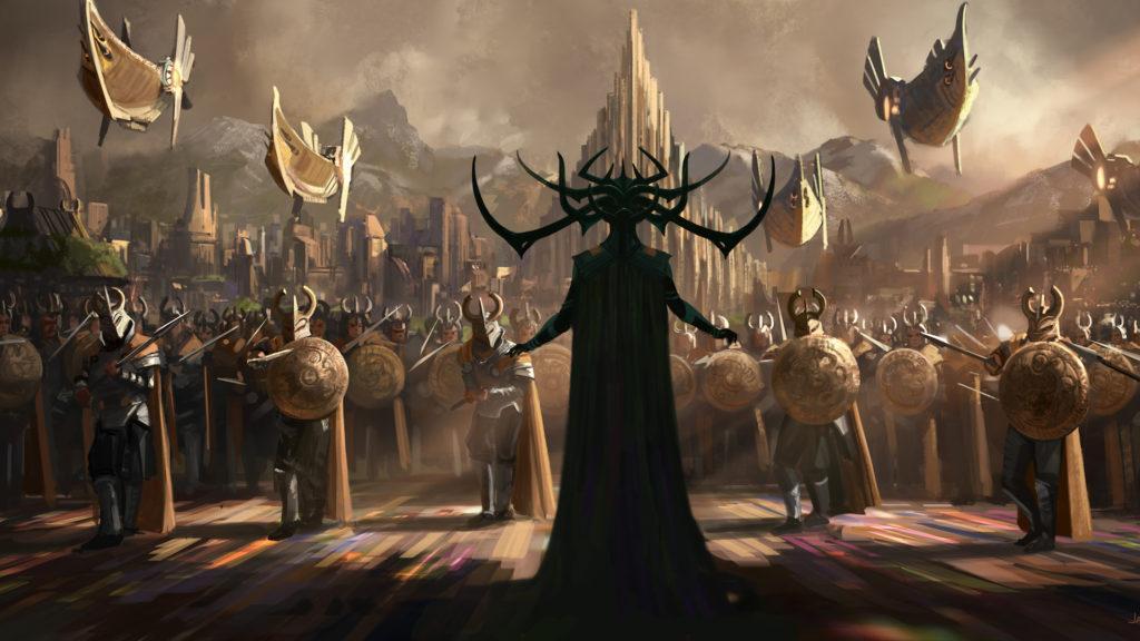 Esta es la primera imagen adelanto de Thor 3: Ragnarok