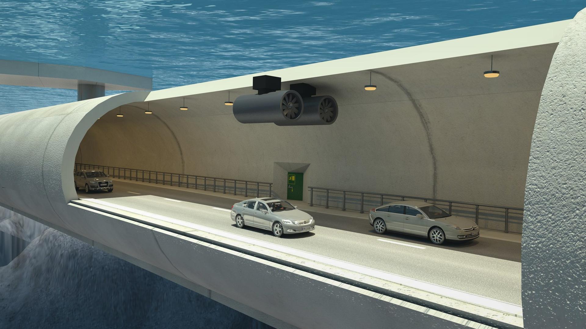 Construirán el primer túnel submarino flotante del mundo