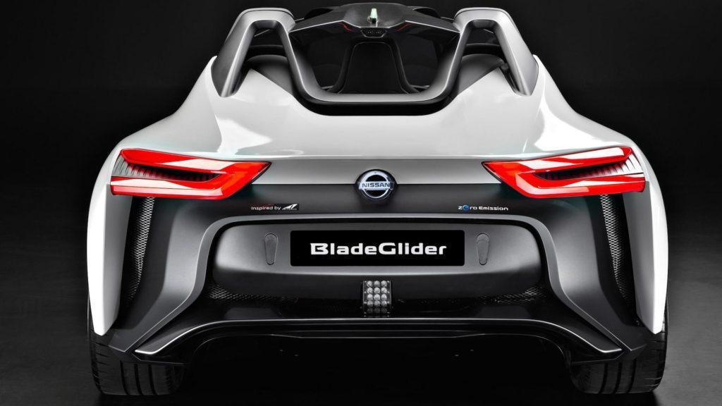 Este es el impactante Nissan BladeGlider: futurista, deportivo y cero emisiones
