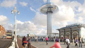 Inaugura la torre de observación British Airways i360