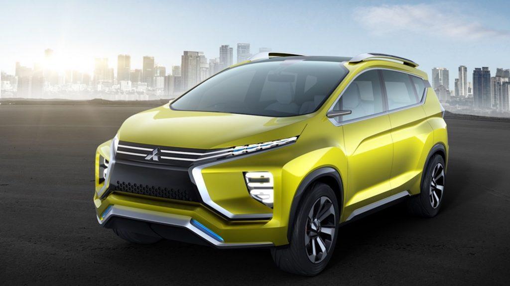 Mitsubishi presentó el nuevo crossover SUV XM Concept