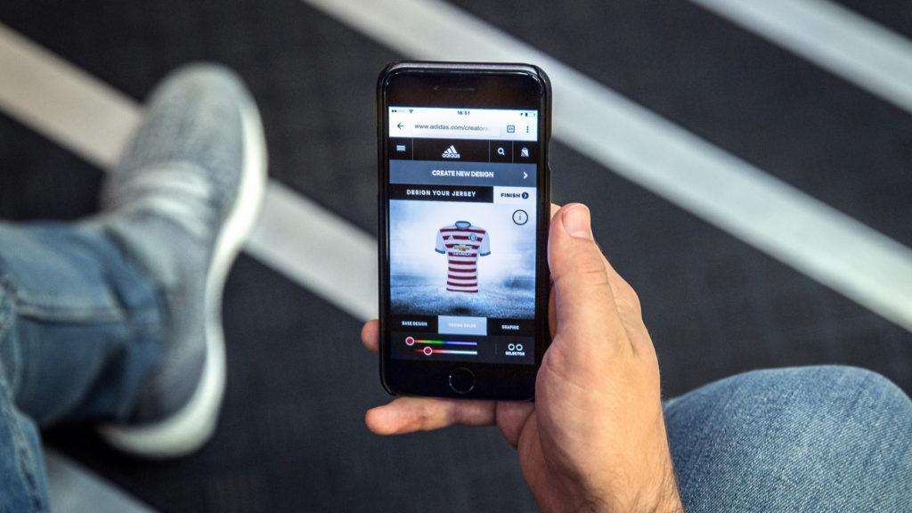 Adidas lanzó app para diseñar los uniformes de visitante de los mayores clubes del mundo