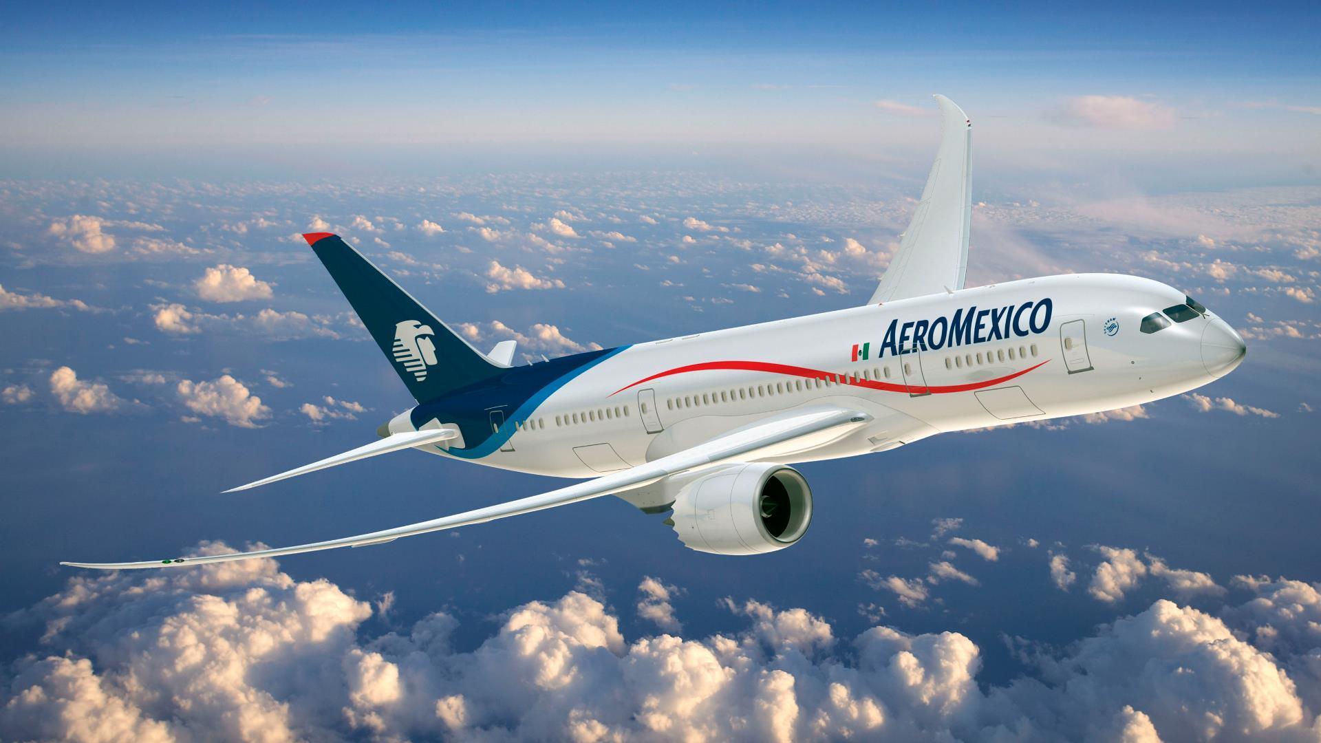 Aeroméxico multiplica sus vuelos a Europa, Asia y Sudamérica