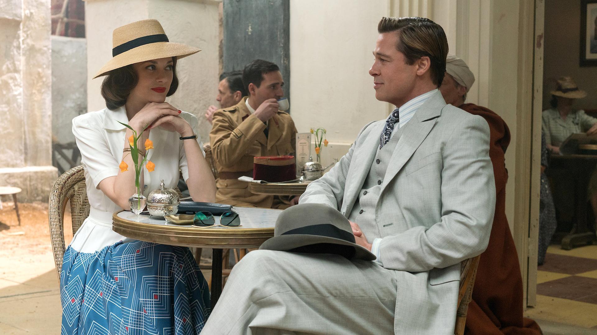 Este es el primer trailer de Aliados, la nueva película con Brad Pitt y del director de Volver al Futuro y Forrest Gump