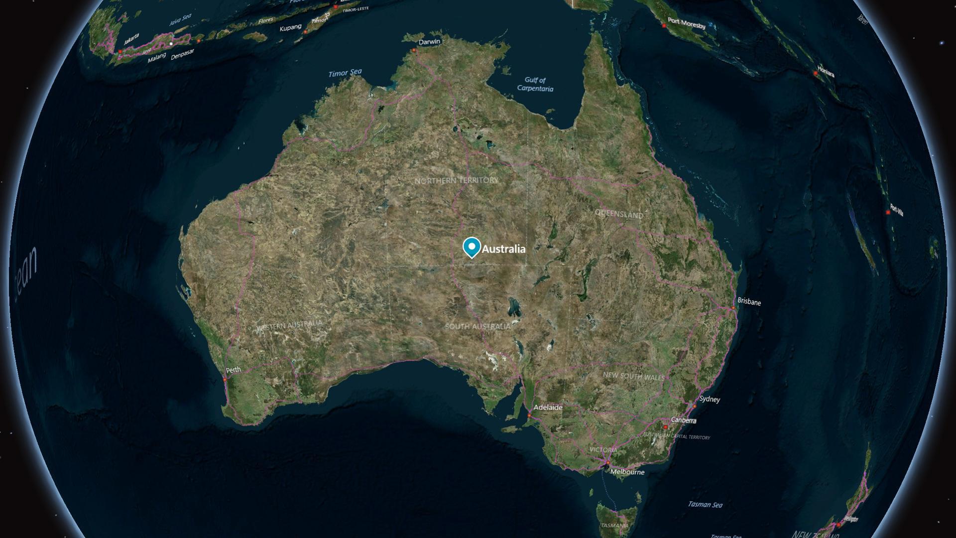 Australia no deja de moverse y deberá corregir las coordenadas del GPS