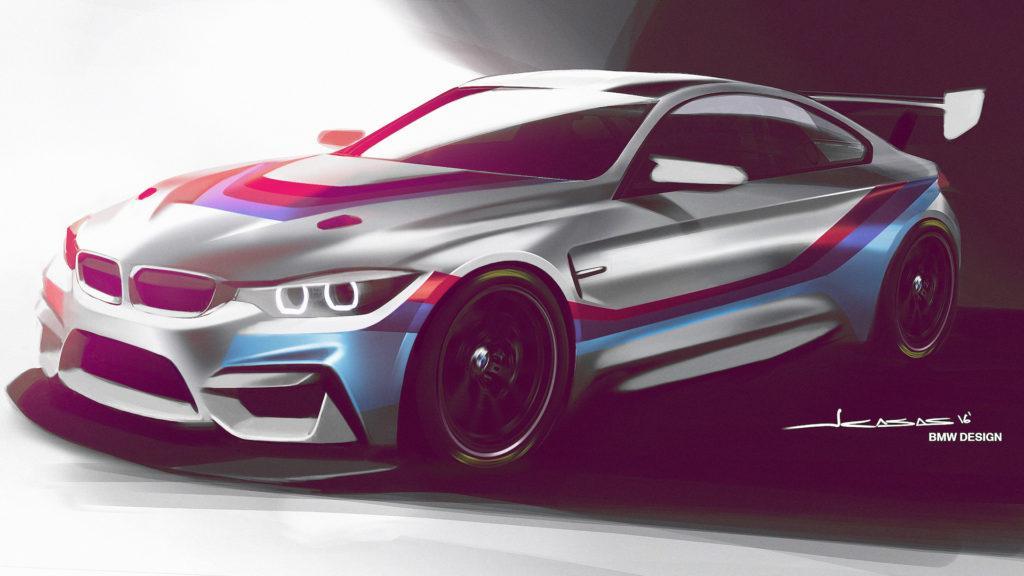 BMW presentó el nuevo M4 GT4