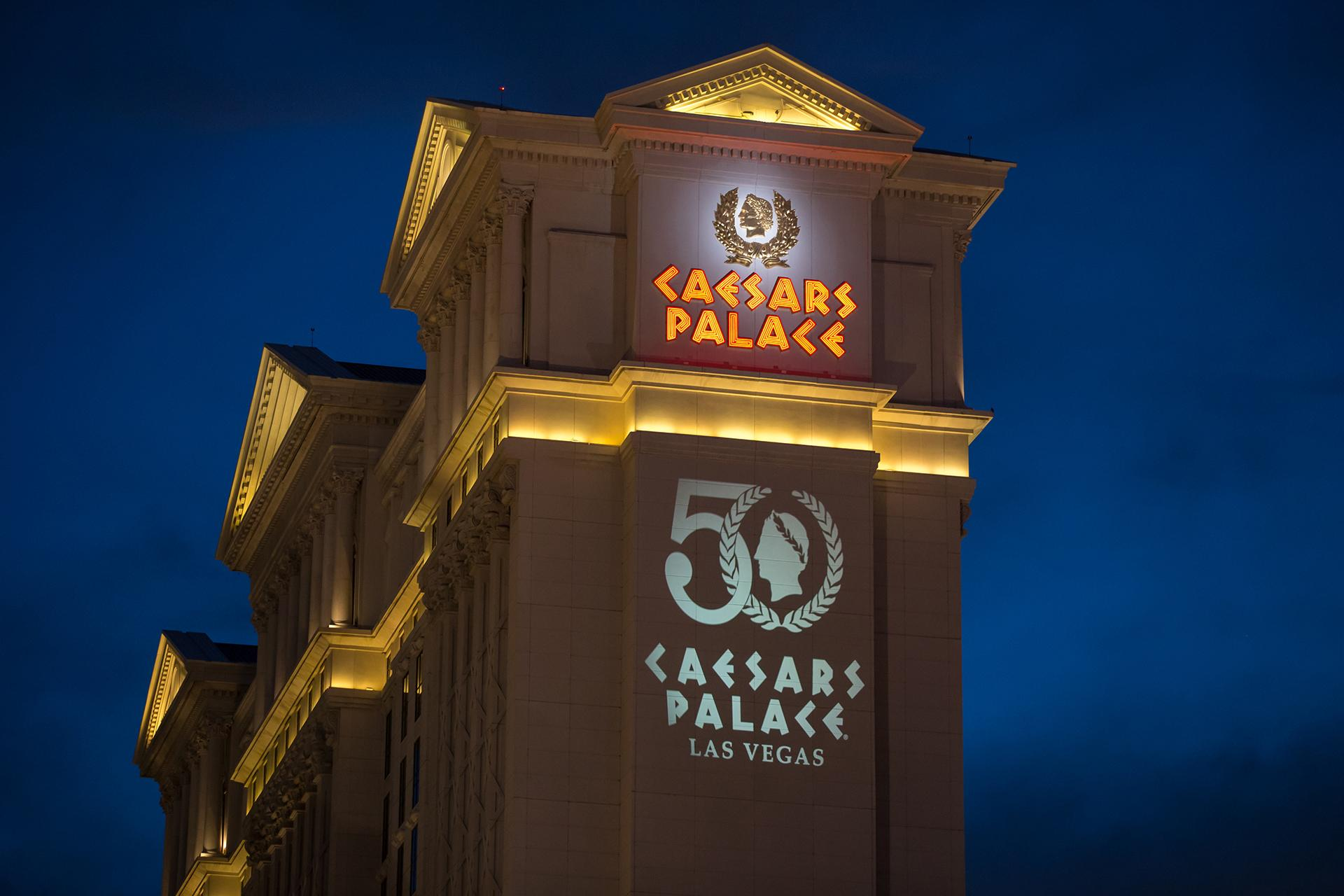 El icónico Caesars Palace de Las Vegas cumple 50 años