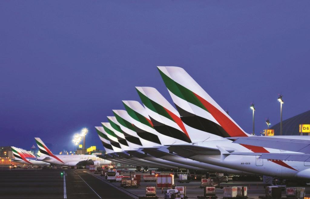 Emirates ahora solo vuelta con Airbus A380 y Boeing 777