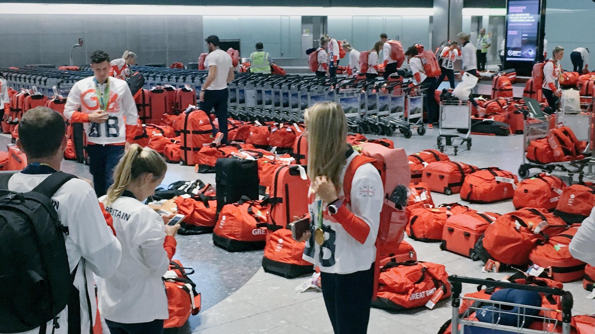 Elegir equipaje que se diferencie del resto es importante, no para Gran Bretaña