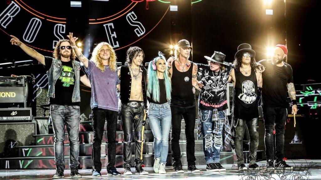 Guns N´ Roses de gira en Argentina: llegan a Rosario y Buenos Aires
