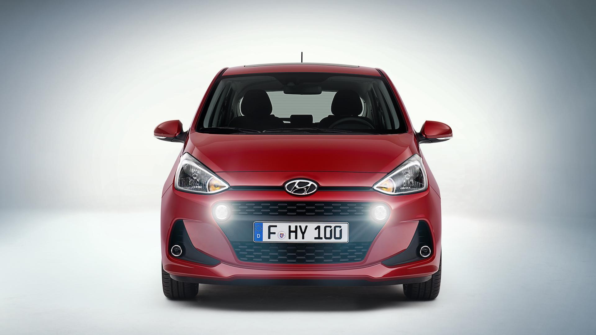 [Imágenes] Este es el nuevo Hyundai i10: novedad del Salón del Automóvil de París