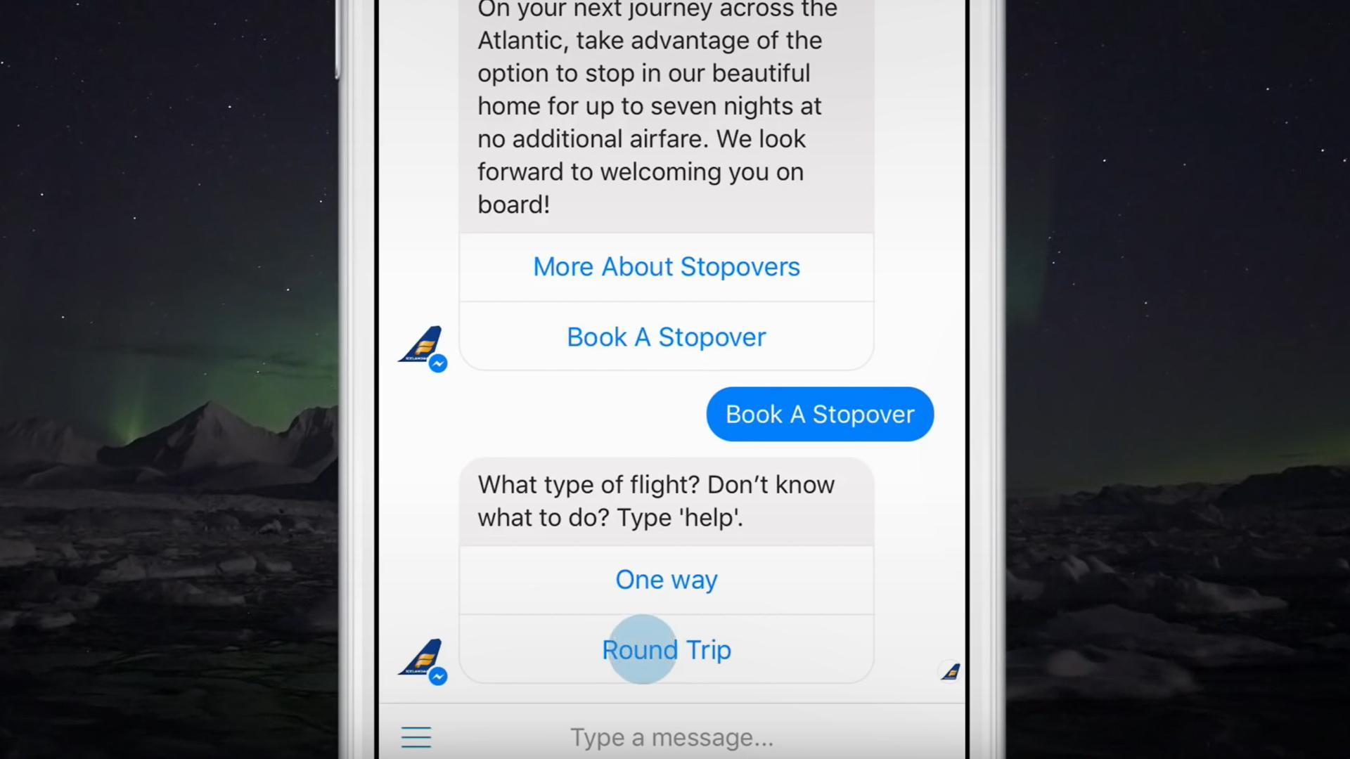 Ahora podemos reservar vuelos desde Messenger