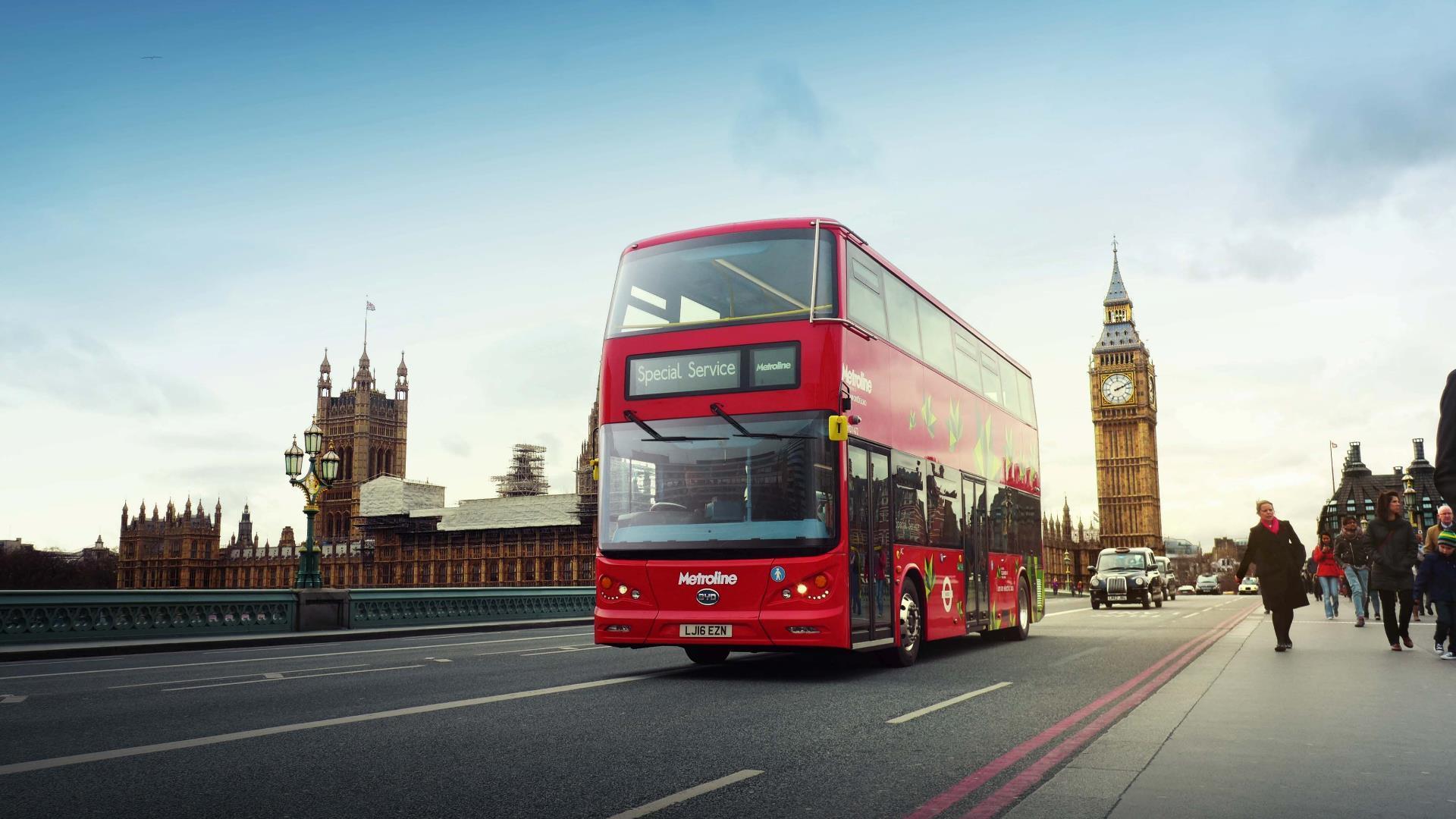 Los buses de Londres tendrán una nueva y útil función