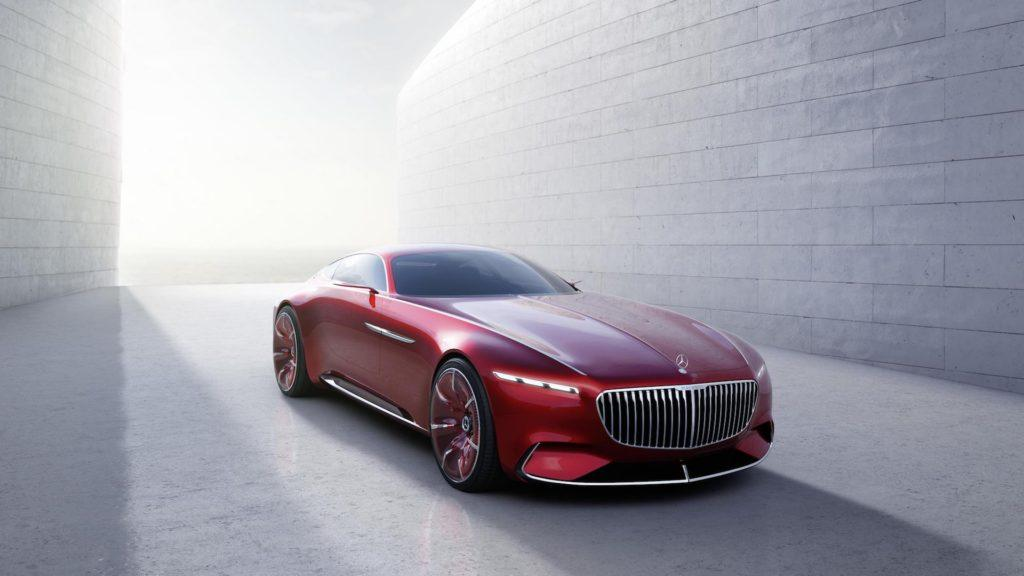 [Imágenes] El impresionante Vision Mercedes Maybach 6