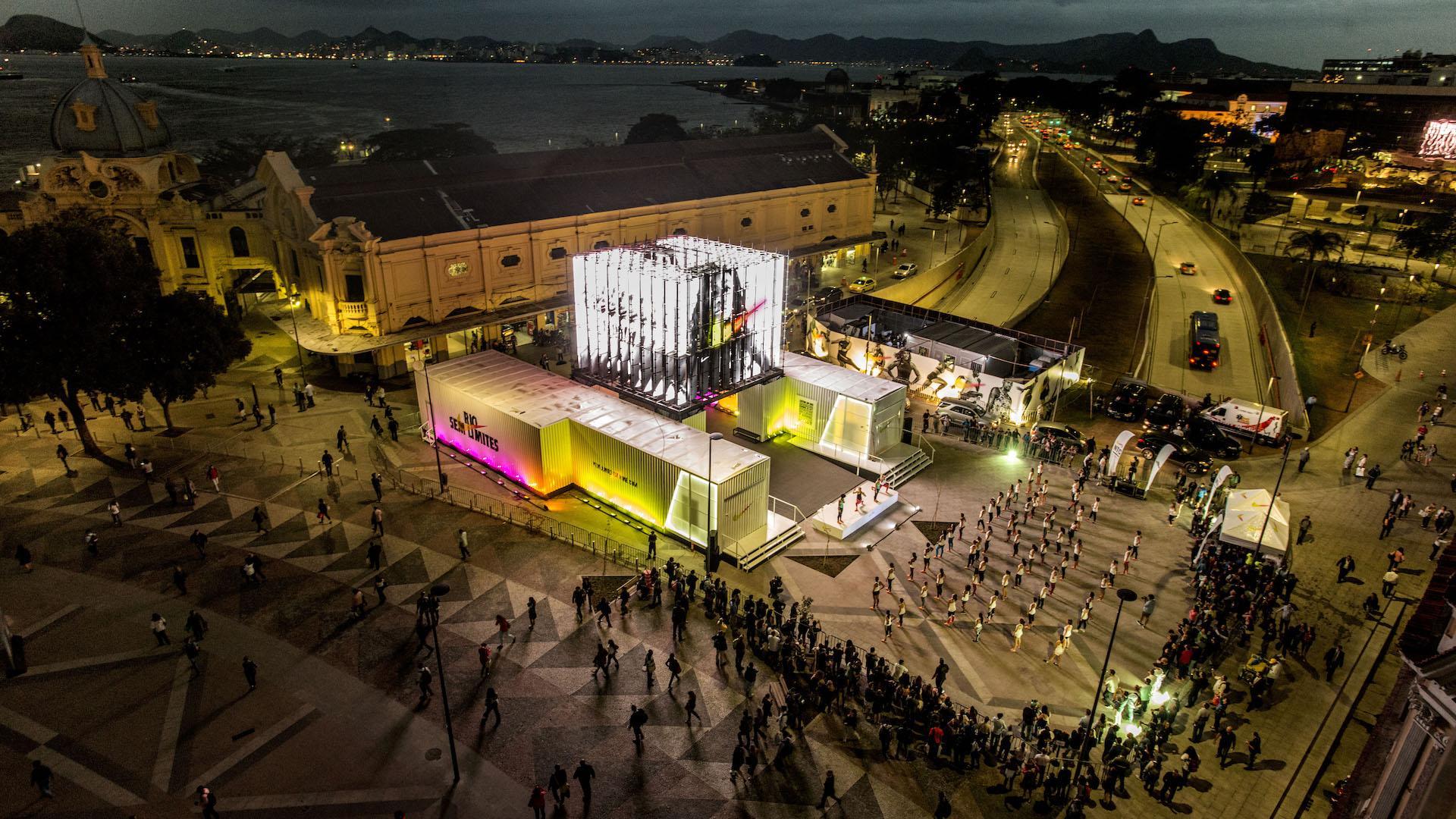 Nike abrió en Río de Janeiro su espacio interactivo Río Unlimited