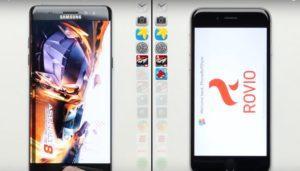 ¿Cuál es el celular más rápido? Galaxy Note 7 o iPhone 6s