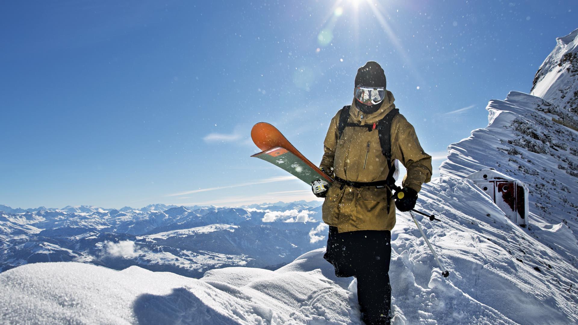 Crean un sitio para esquiadores con las mejores pistas del mundo