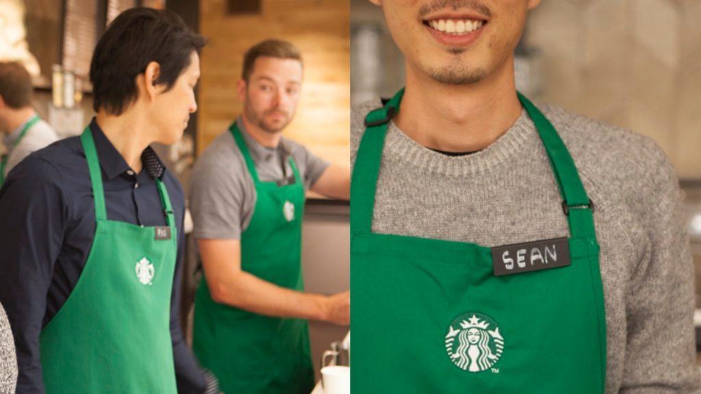 El nuevo look de los baristas de Starbucks
