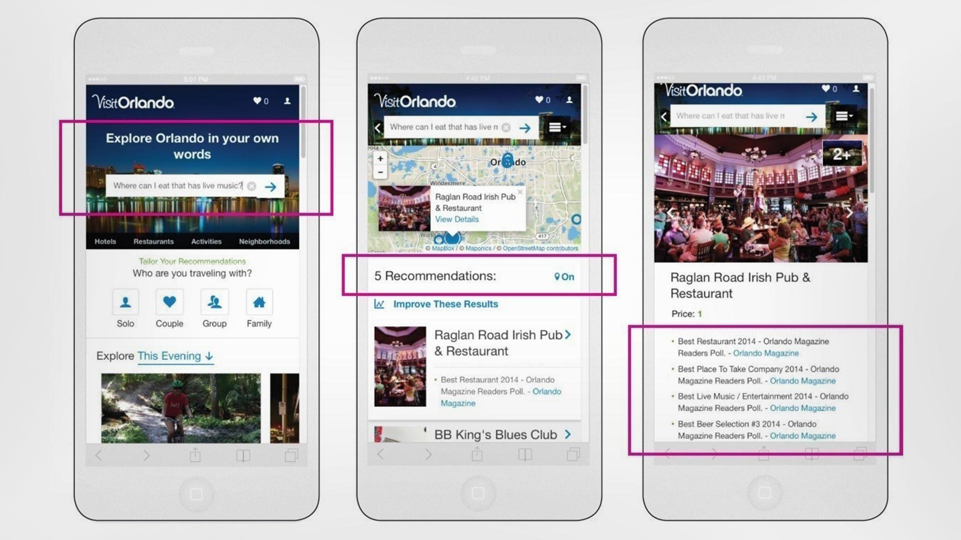 Orlando lanzó su nueva app oficial con realidad aumentada