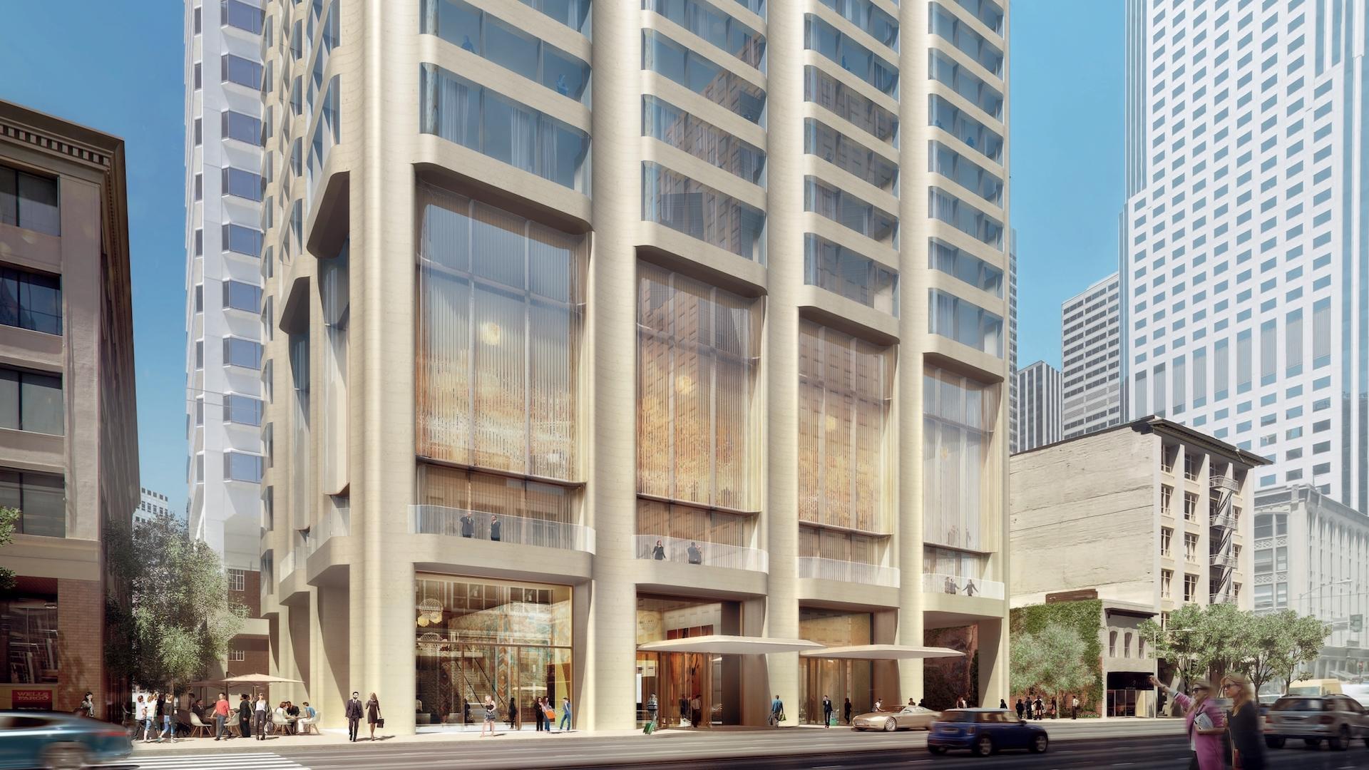 Waldorf Astoria abre nuevo hotel en San Francisco en una torre diseñada por Foster + Partners