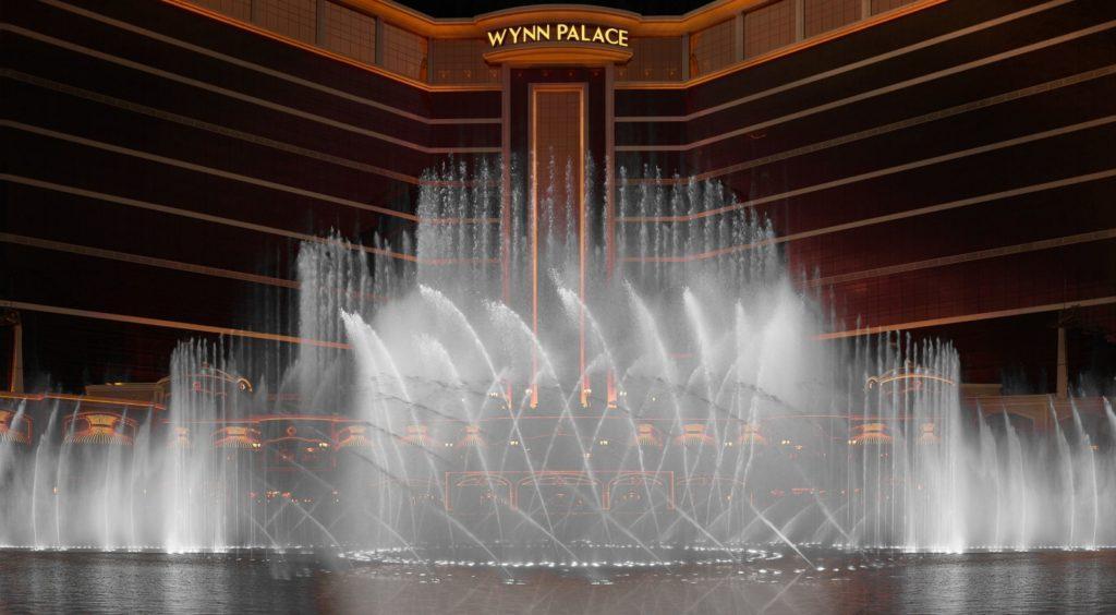 Inauguró Wynn Palace con un imponente show