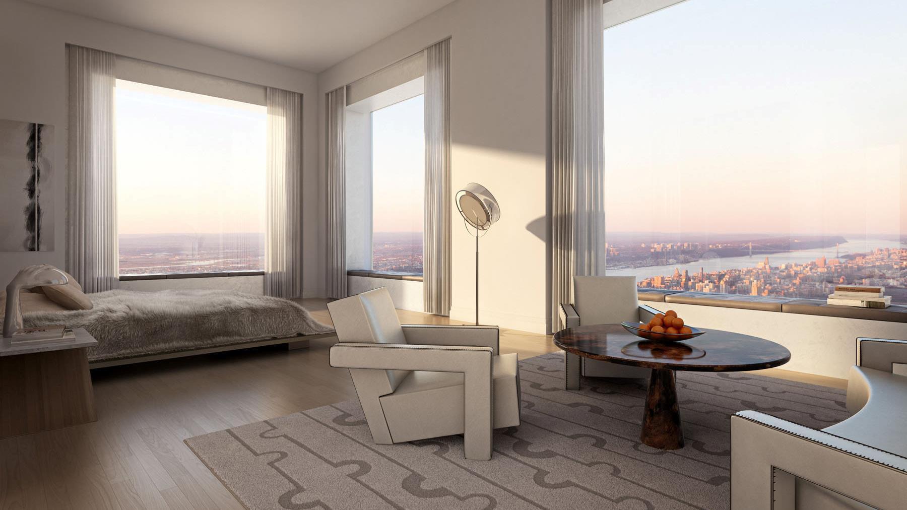 Se vendió el penthouse más alto de Nueva York a US$ 87.8 millones