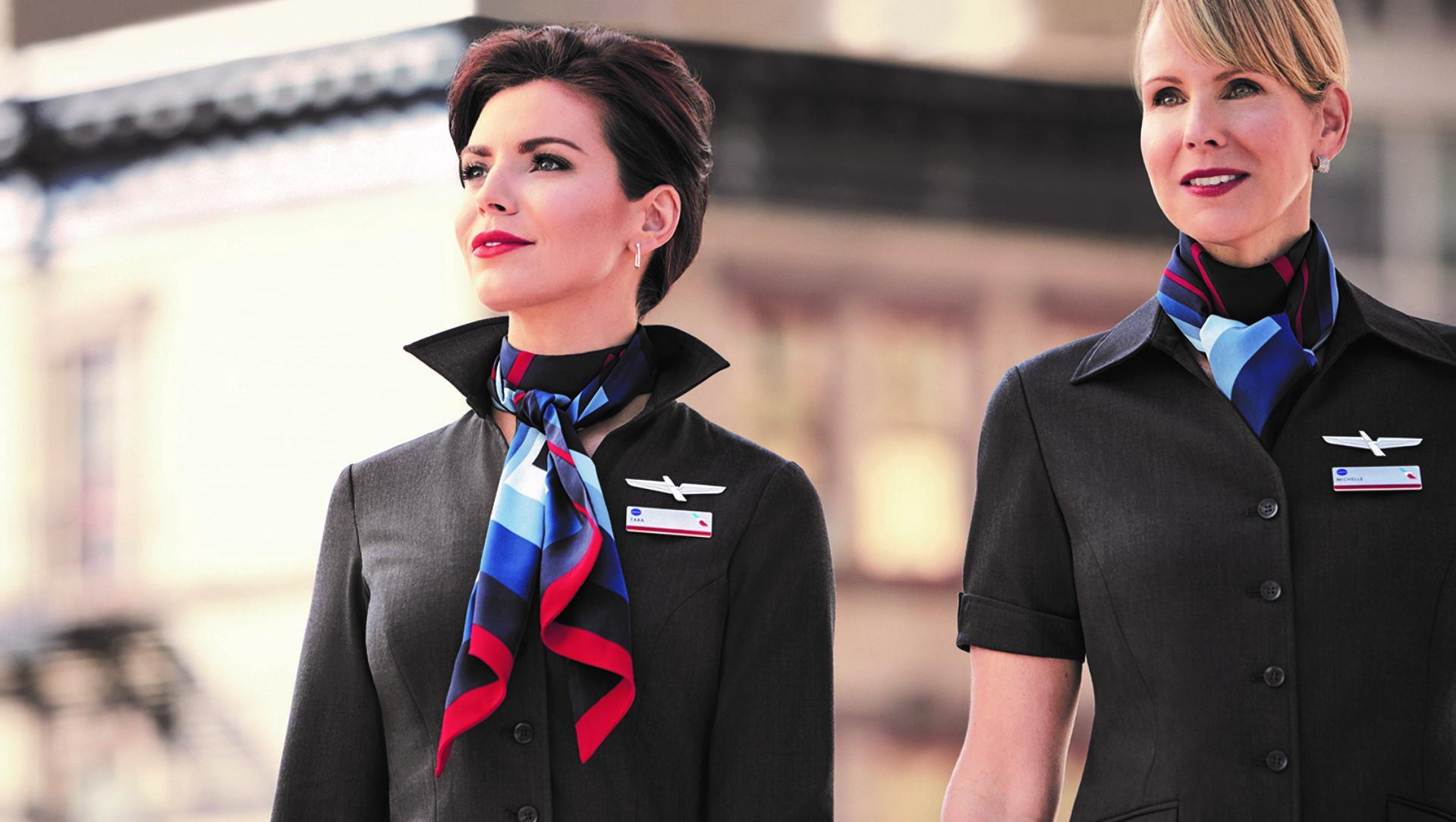 Los nuevos uniformes de American Airlines